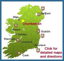 Drumkeeran Holiday Homes location map